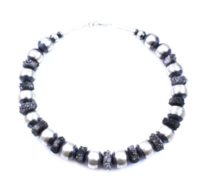 Lawrence Baca-16mm Bead Necklace-Sorrel Sky Gallery-Jewelry