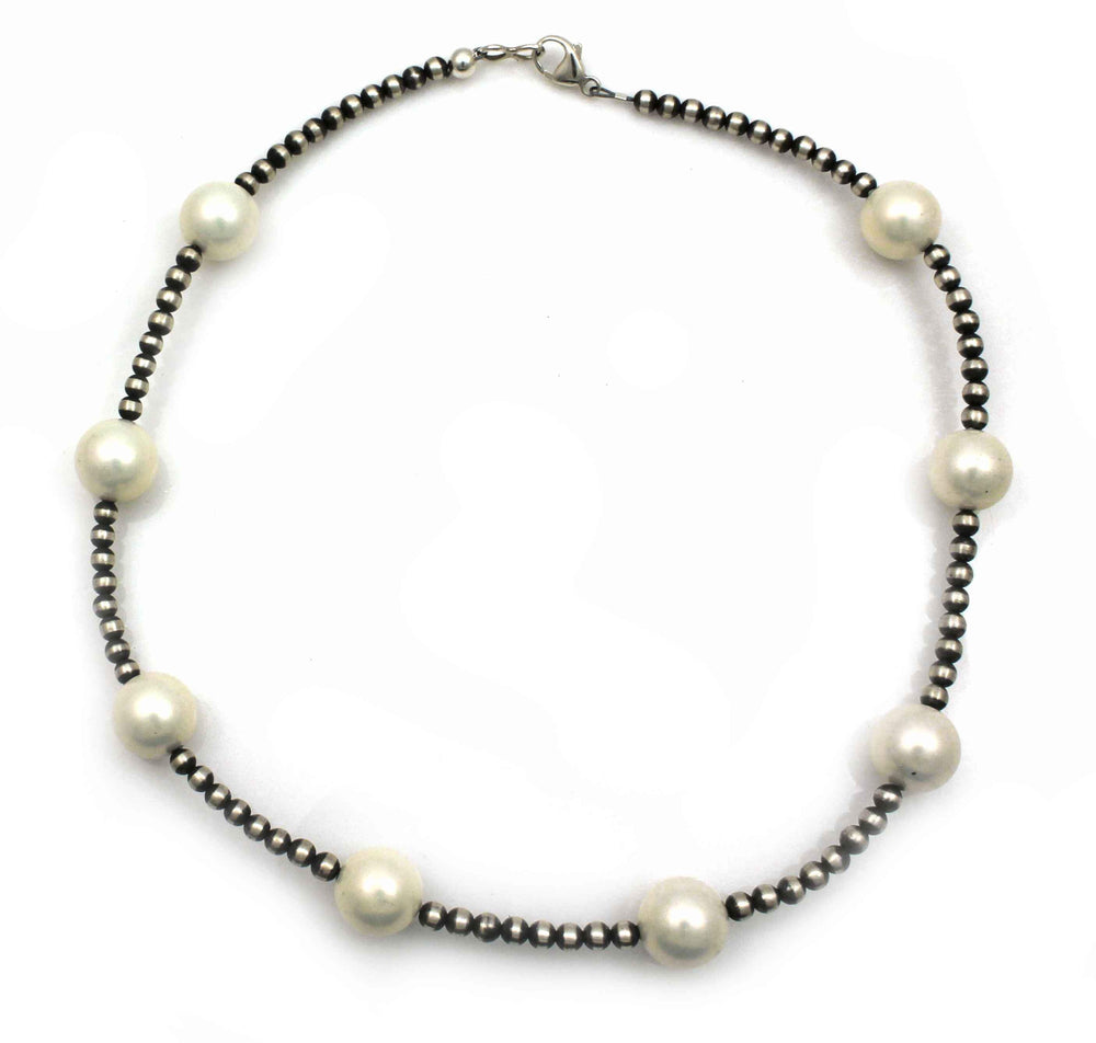 4mm Fresh Water Pearl Bead Necklace