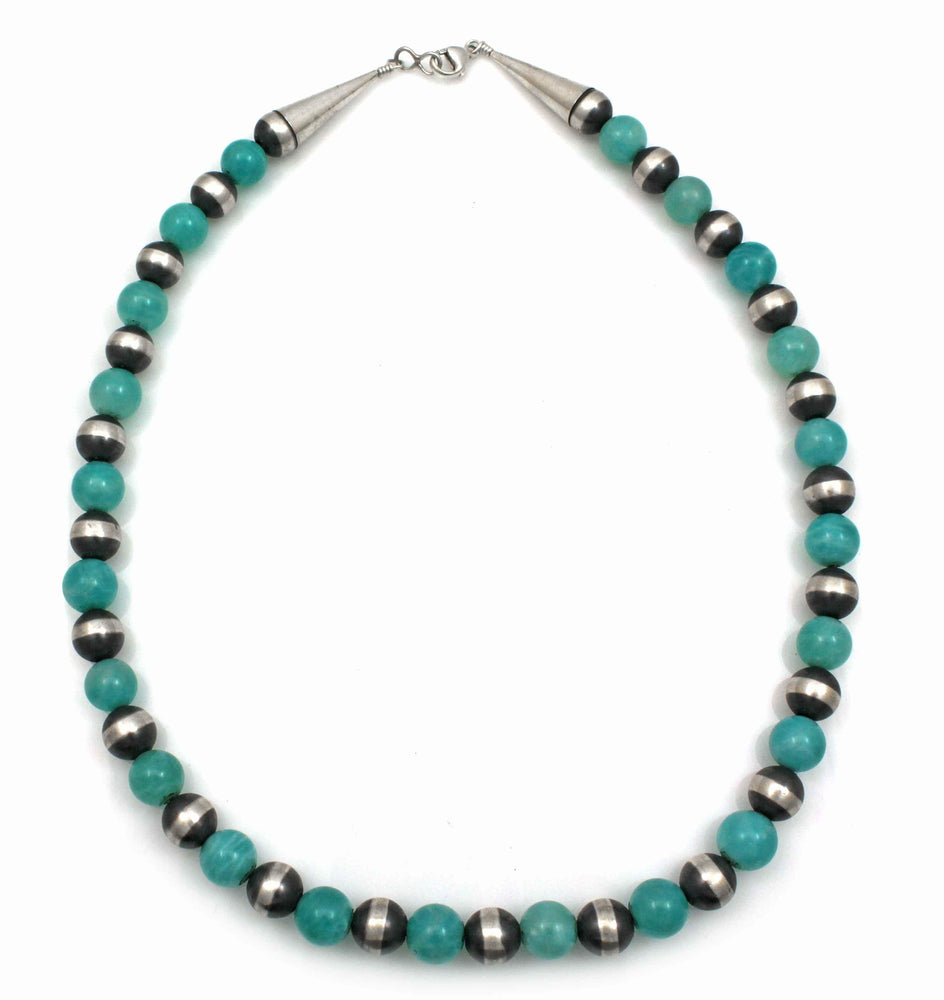 Amazonite Bead Necklace