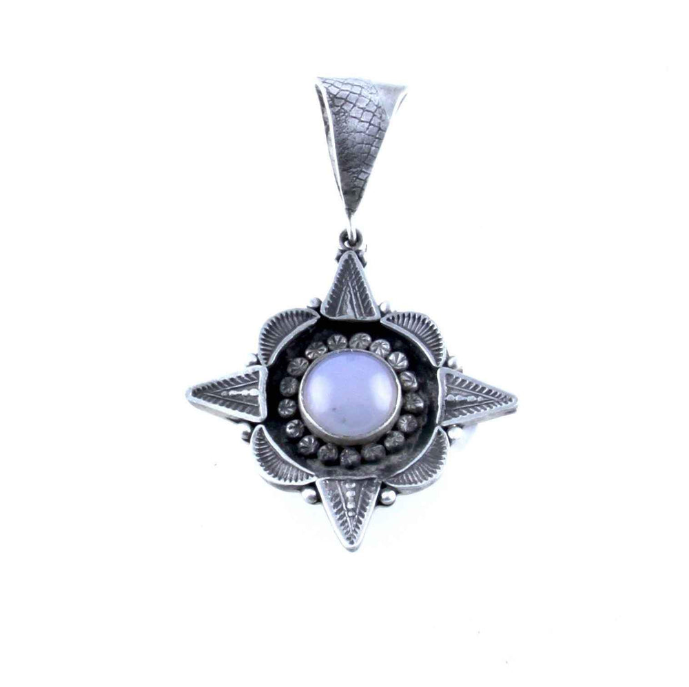 Lawrence Baca-Four Point Star Pendant-Sorrel Sky Gallery-Jewelry