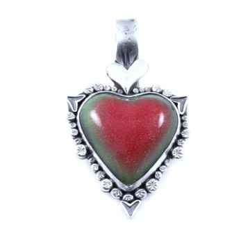 Watermelon Car Heart Pendant