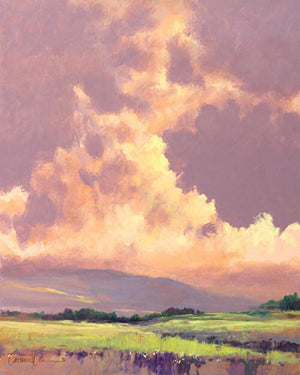 Tarde Morada-Painting-Lawrence Lee-Sorrel Sky Gallery