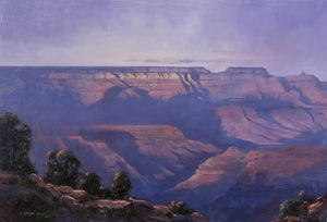 On the Edge of Twilight-Painting-Linda Glover Gooch-Sorrel Sky Gallery