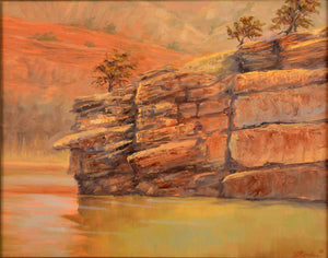 Cliffhanger-Painting-Linden, Janeice-Sorrel Sky Gallery