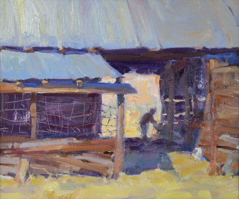 Hay Barn-Painting-Lindsey, Carolyn-Sorrel Sky Gallery