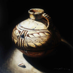 Ancient Anasazi Pitcher-Painting-Lisa Danielle-Sorrel Sky Gallery