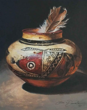 Feathers Of Ancient Hopi-Lisa Danielle-Sorrel Sky Gallery