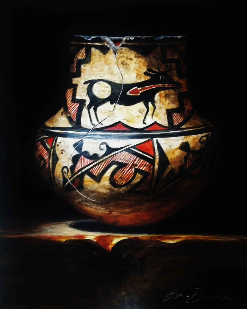 Zuni Deer Jar-Lisa Danielle-Sorrel Sky Gallery