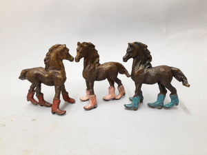 Foal With Boots-Sculpture-Lisa Gordon-Sorrel Sky Gallery