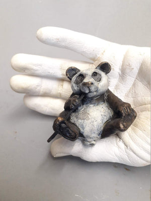Panda Small-Sculpture-Lisa Gordon-Sorrel Sky Gallery