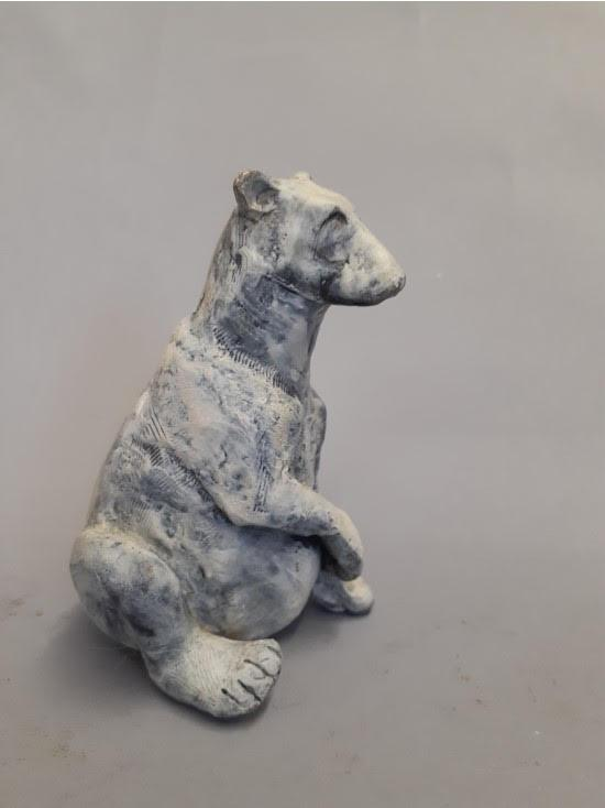 Polar Bear-Sculpture-Lisa Gordon-Sorrel Sky Gallery
