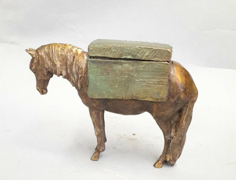 Special Delivery Gift Box-Sculpture-Lisa Gordon-Sorrel Sky Gallery