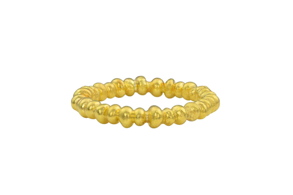 Bead Gold Band