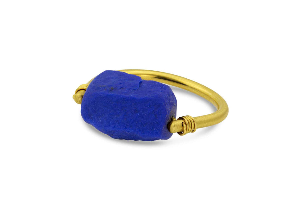 Lapis Spinner Ring