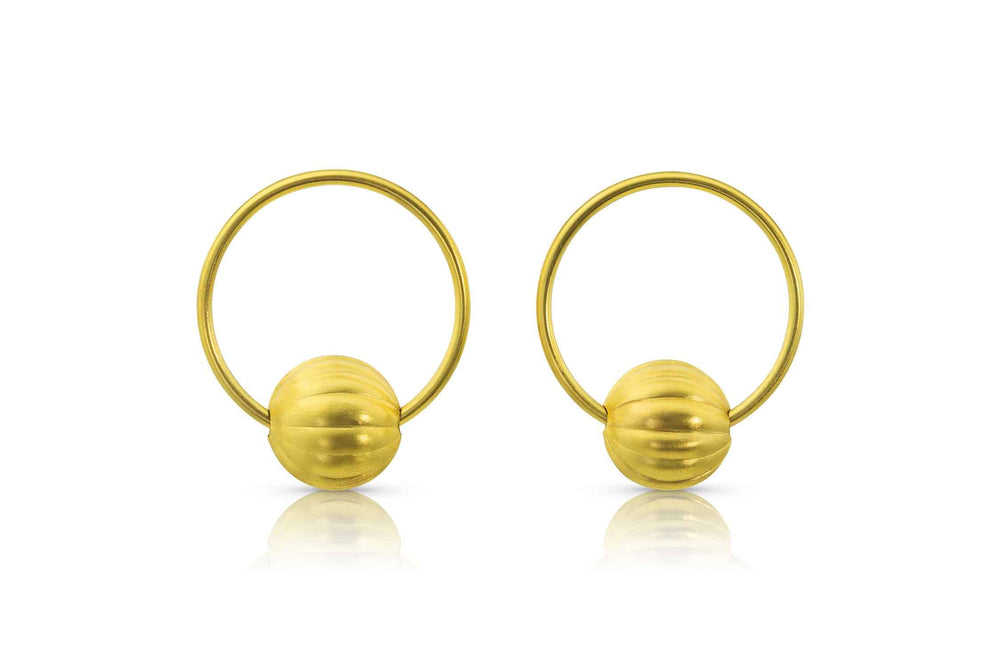 Late Intermediate Hoop Earrings