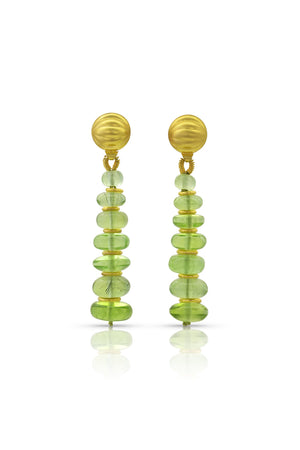 Peridot Drop Earrings-Jewelry-Loren Nicole-Sorrel Sky Gallery
