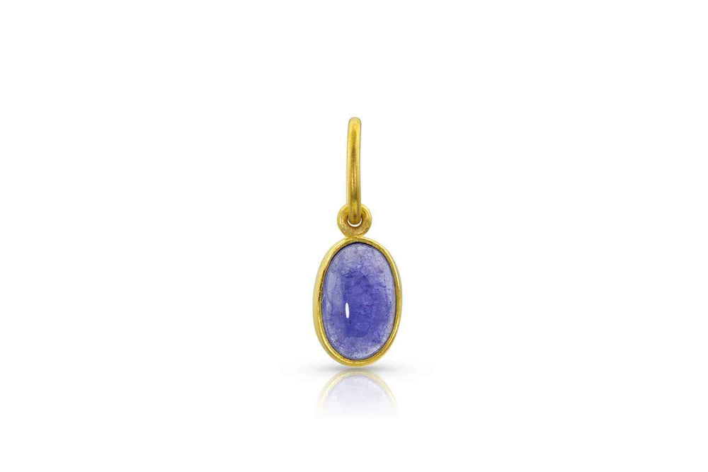 Loren Nicole-Tanzanite Gold Charm-Sorrel Sky Gallery-Jewelry