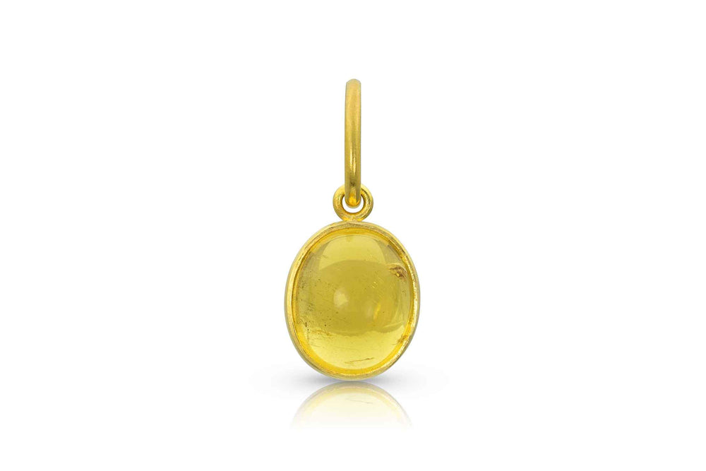 Loren Nicole-Yellow Beryl Gold Charm-Sorrel Sky Gallery-Jewelry