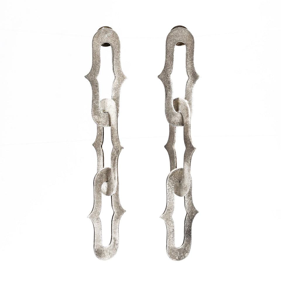Architectural Link Earrings