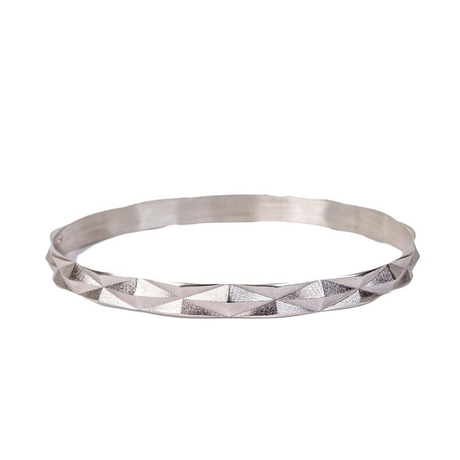 Diamond Peak Bangle Bracelet