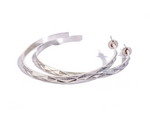 Diamond Peak Narrow Hoop Earrings