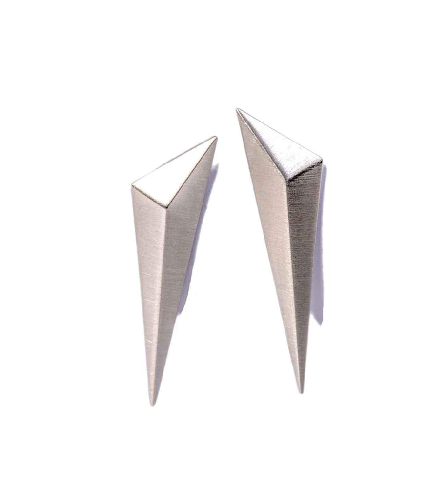 Long Tetra Stud Earrings-Jewelry-Maria Samora-Sorrel Sky Gallery