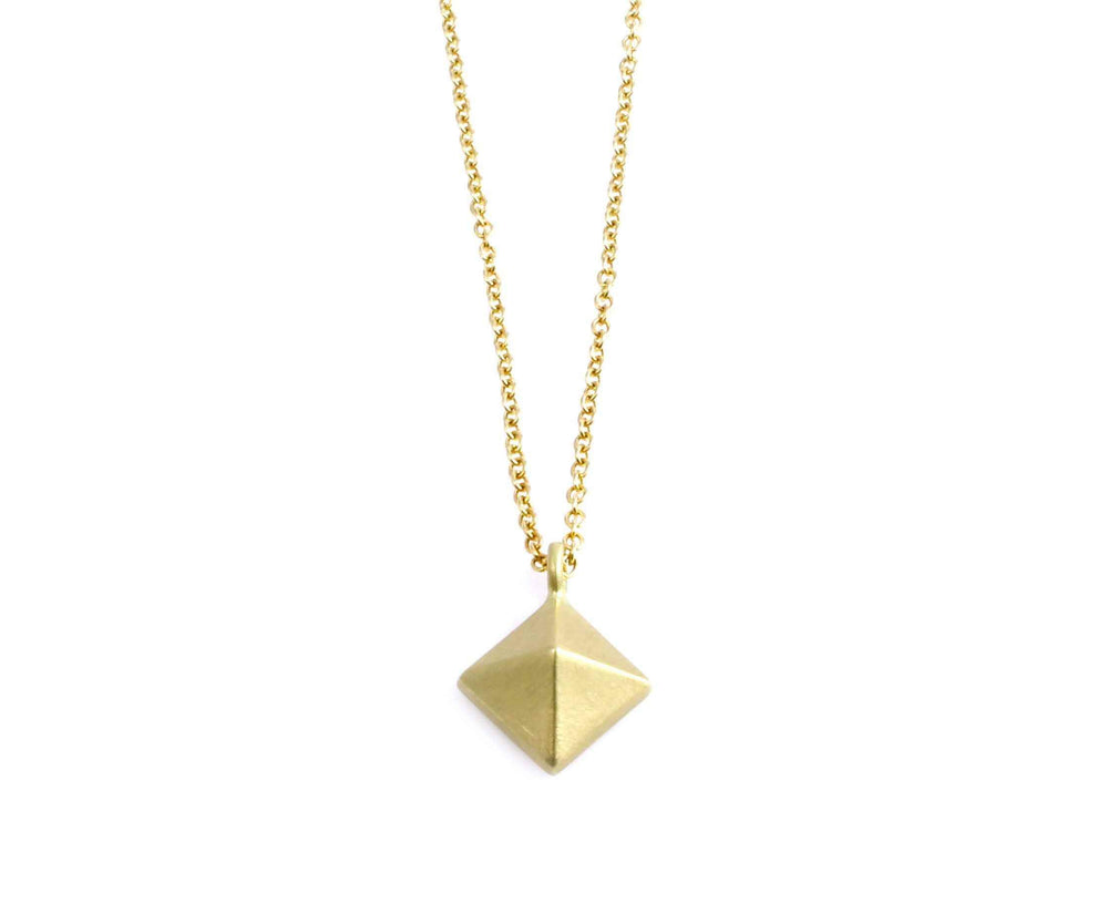 Single Pyramid Necklace