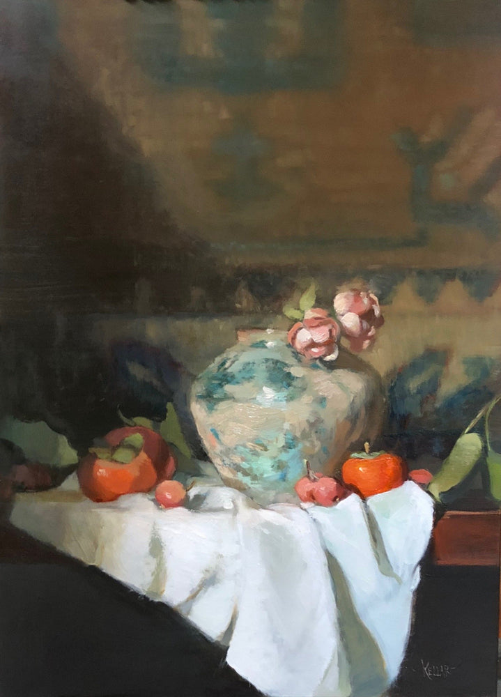 Tang Vase and Persimmons
