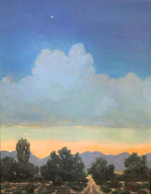 Martha Kellar-Sorrel Sky Gallery-Painting-The Road Into Sunset
