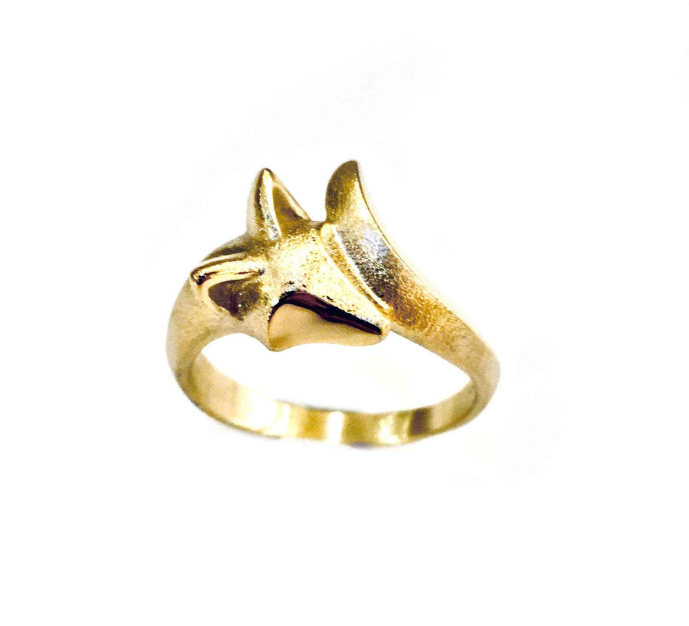 Baby Fox Ring-Jewelry-Michael Tatom-Sorrel Sky Gallery