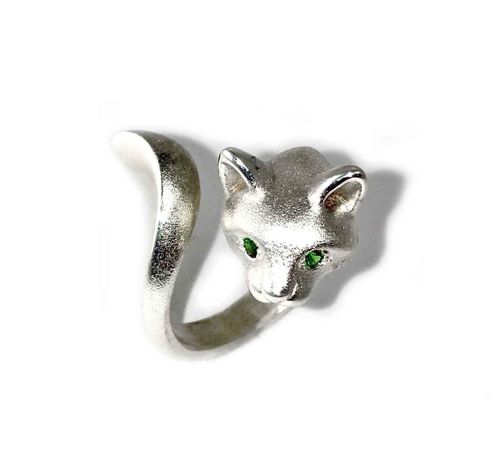 Forest Cat Ring-Jewelry-Michael Tatom-Sorrel Sky Gallery