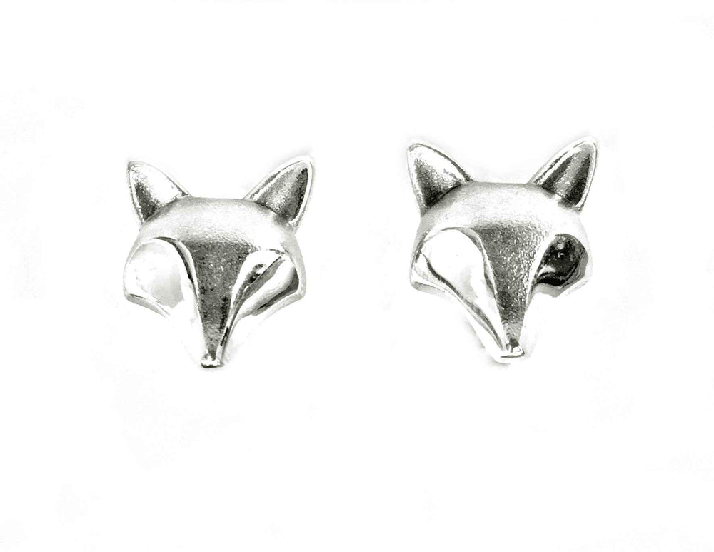Large Fox Earrings