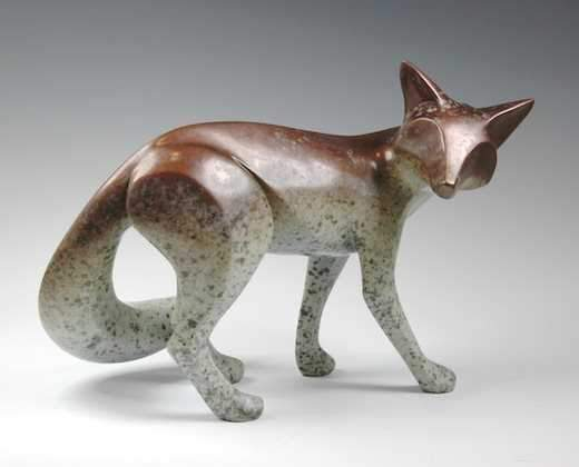 Large Bronze Fox