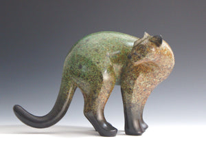 Michael Tatom-Large Puma-Sorrel Sky Gallery-Sculpture
