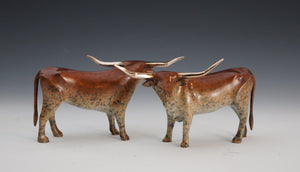 Michael Tatom-Longhorn-Sorrel Sky Gallery-Sculpture