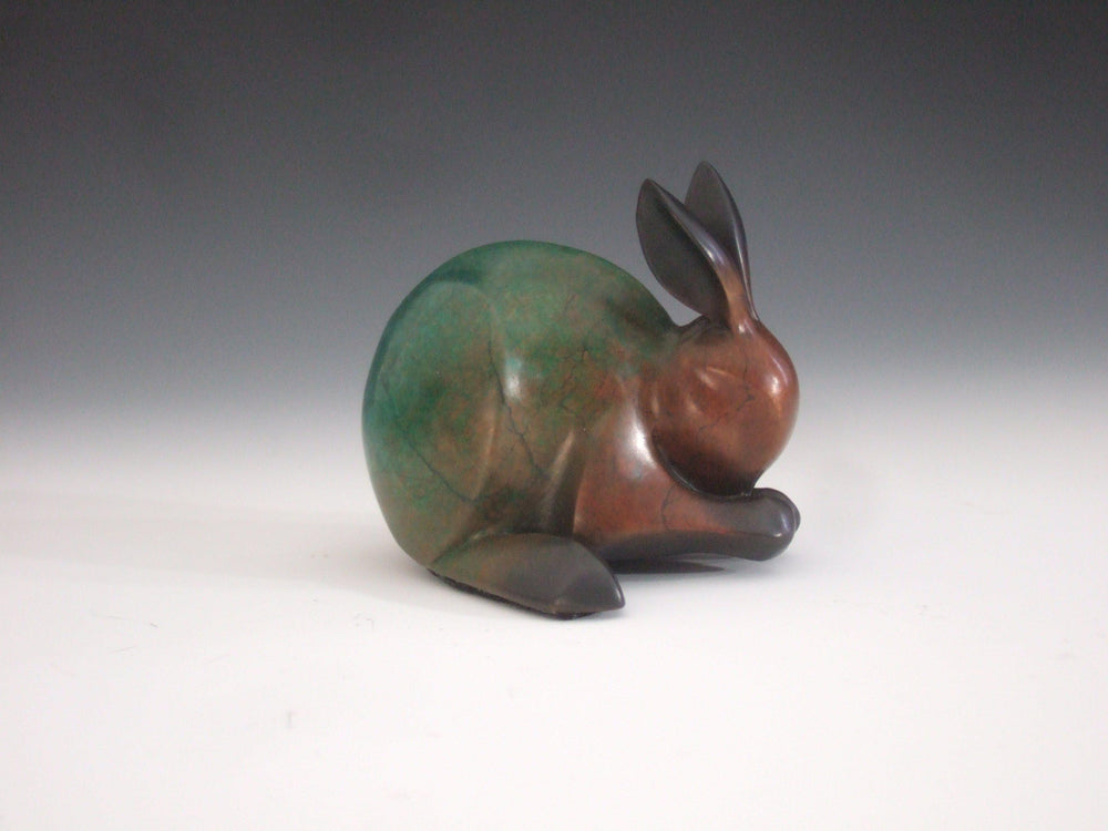 Michael Tatom-Praying Bunny-Sorrel Sky Gallery-Sculpture