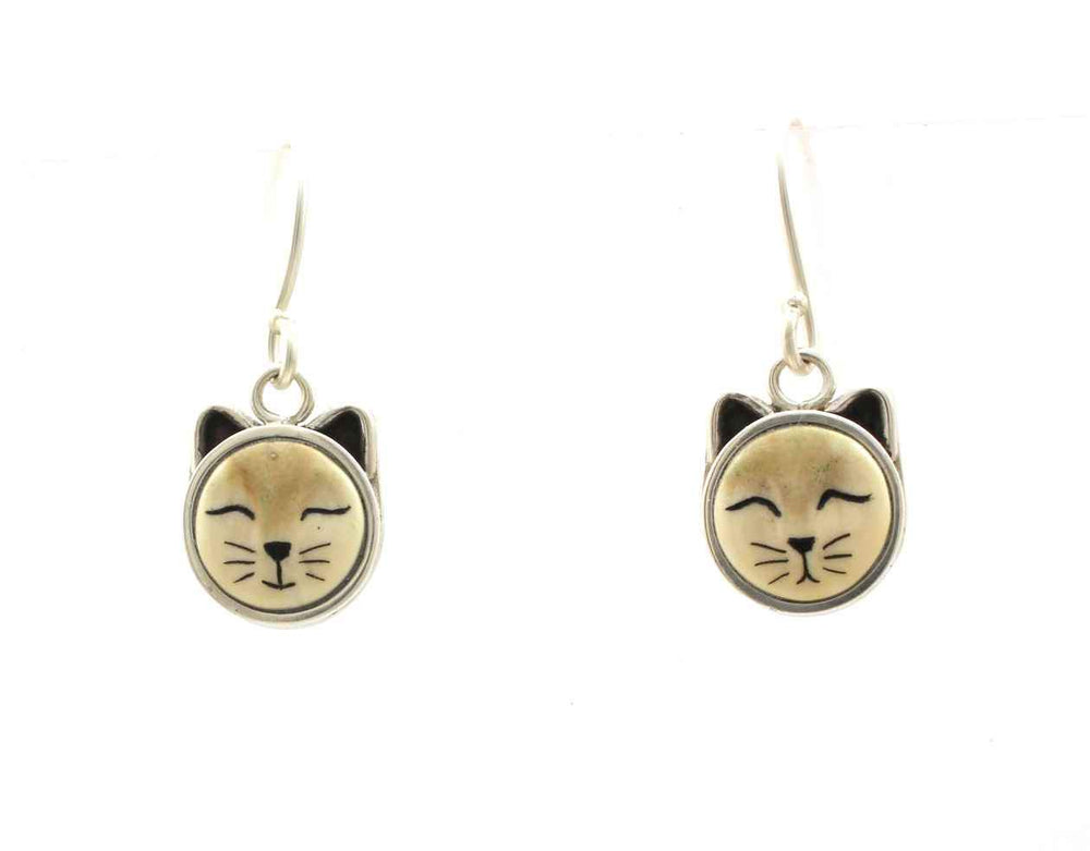 Cat Dangle Earrings