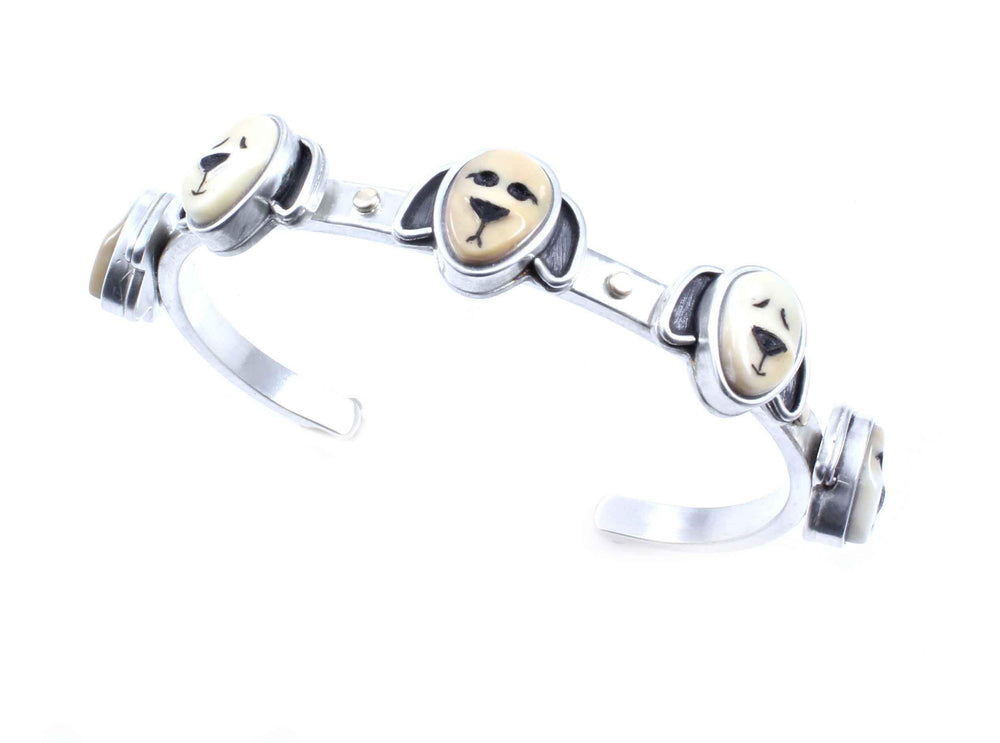 Sorrel Sky Gallery-Jewelry-Michelle Tapia-Floppy Dog Bracelet