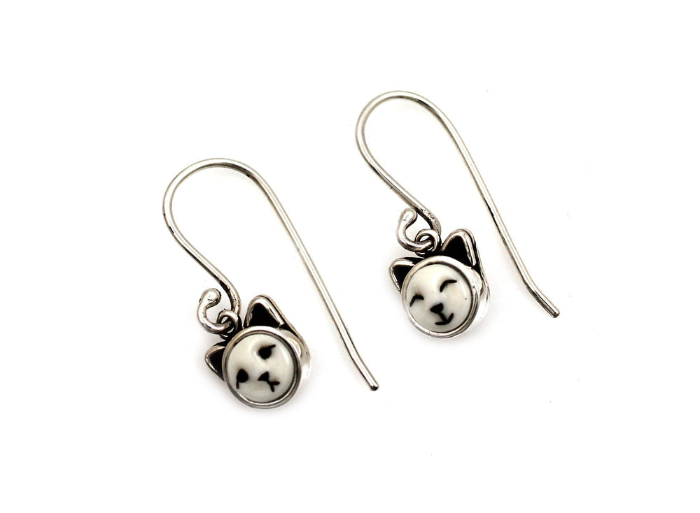 Kitten Dangle Earrings
