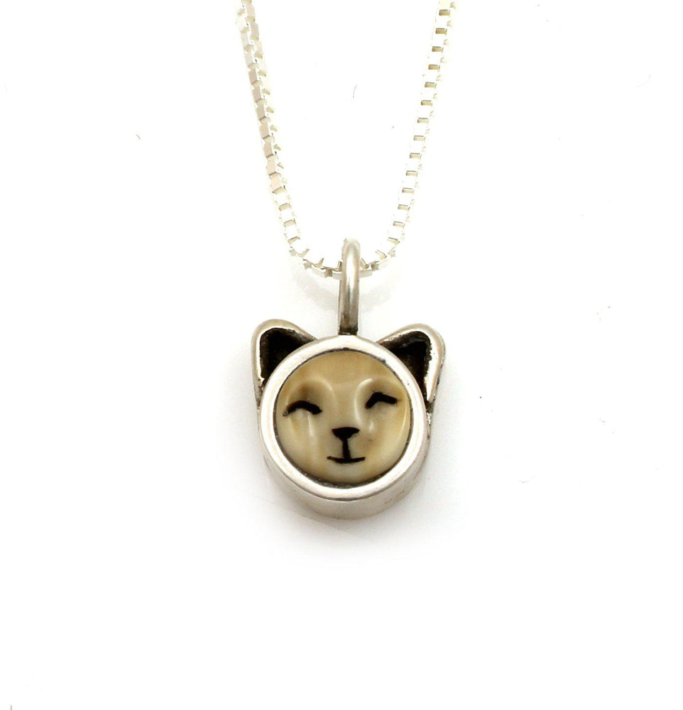 Kitten Pendant-Jewelry-Michelle Tapia-Sorrel Sky Gallery