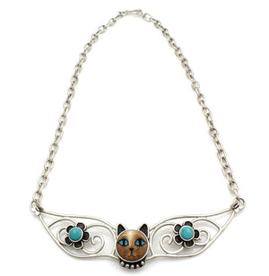 Large Cat Collar Necklace-Jewelry-Michelle Tapia-Sorrel Sky Gallery