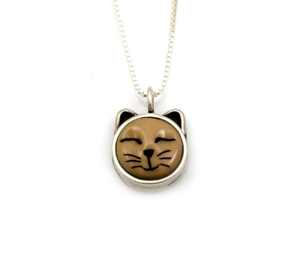 Sleeping Cat Pendant