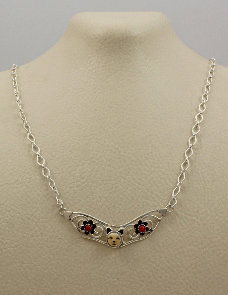 Small Cat Collar Necklace-Jewelry-Michelle Tapia-Sorrel Sky Gallery