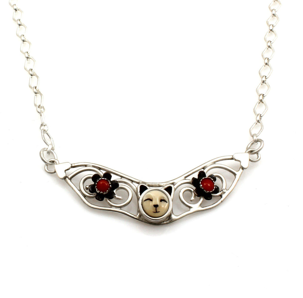 Small Cat Collar Necklace