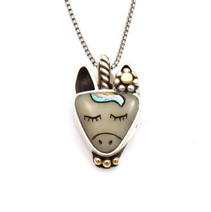 Unicorn Pendant-Jewelry-Michelle Tapia-Sorrel Sky Gallery