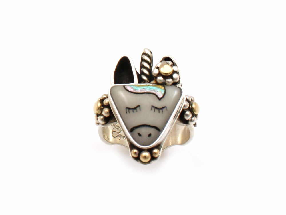 Unicorn Ring-Jewelry-Michelle Tapia-Sorrel Sky Gallery