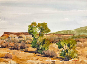 Mike Simpson-Sorrel Sky Gallery-Painting-Alone in the Desert