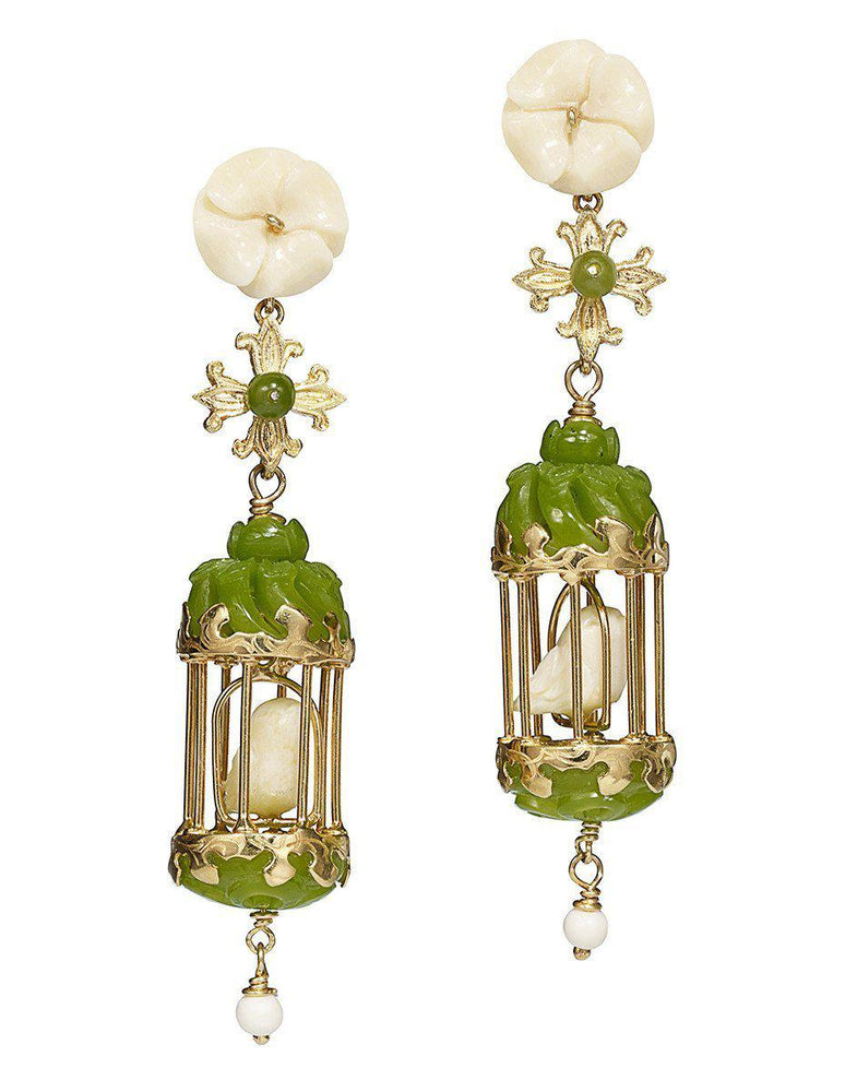 Aviary Classic Mini Earrings-Jewelry-Of Rare Origin-Sorrel Sky Gallery