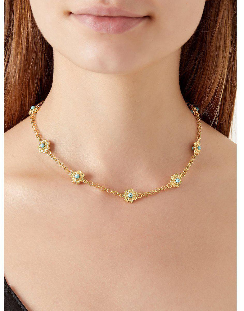 Daisy Chain Necklace-Jewelry-Of Rare Origin-Sorrel Sky Gallery