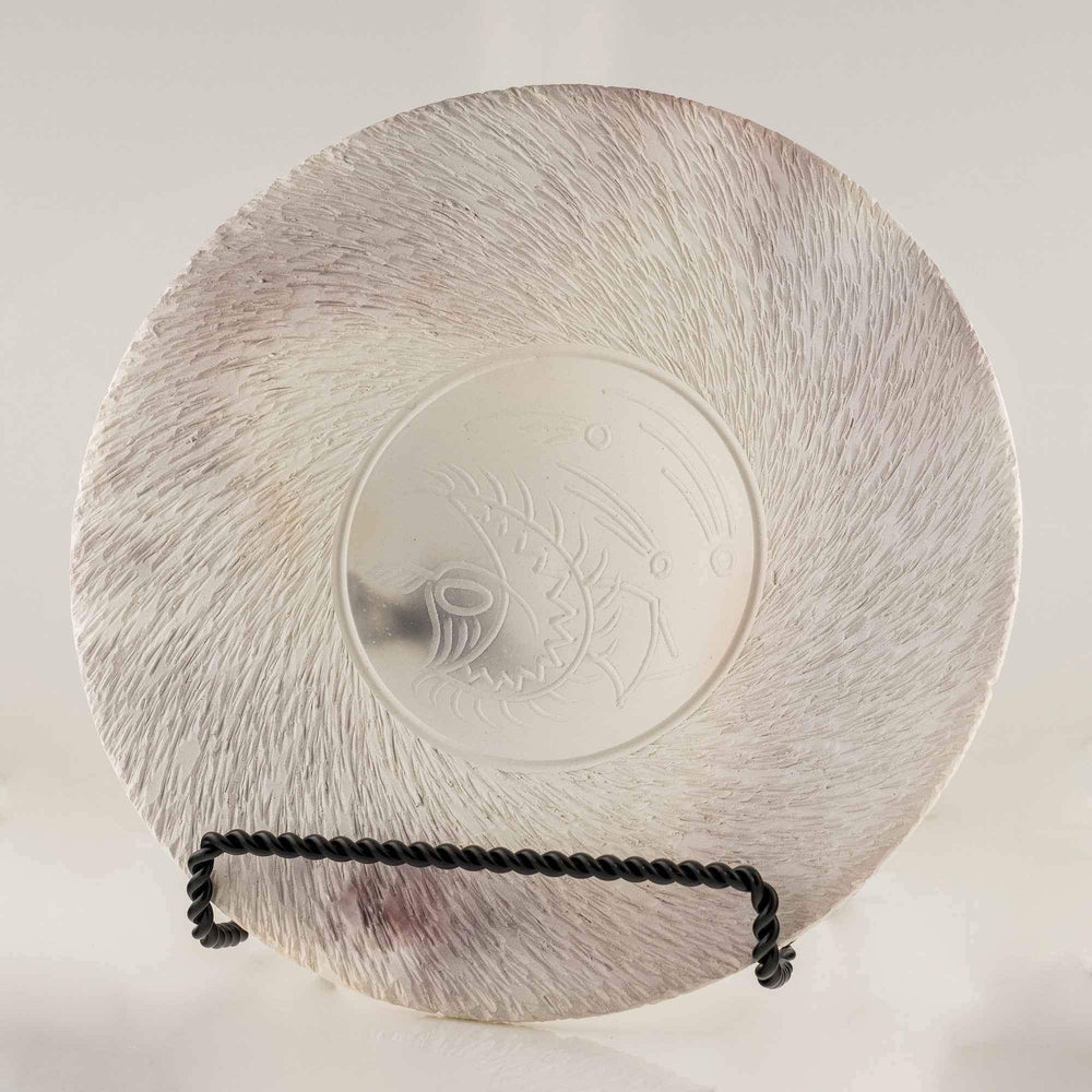 Dancing Textured Plate